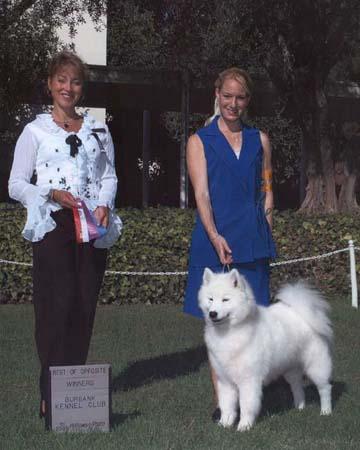 Aimee-Sat Burbank win