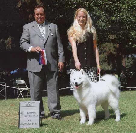 Aimee-Sun Burbank win