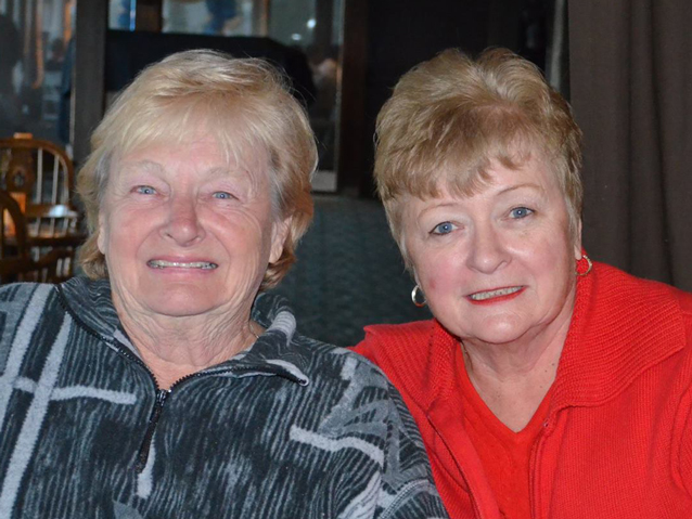 Jane Stevenson (L) and Kathy Ward (R)